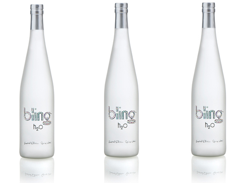 ethical concerns bling h2o Bling h2o is the most expensive bottle of water that an individual can buy anywhere in the world it therefore is the high note of conspicuous consumption that is demonstrated by the loud segments of society.
